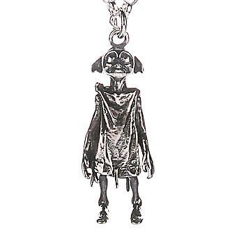 Harry Potter Sterling Silver Dobby l'elfo fascino collana
