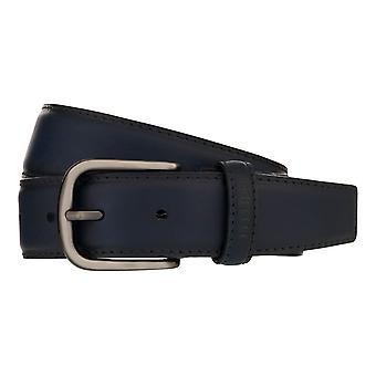 MIGUEL BELLIDO Sport Wear Belt Belted Leather Belt Blue 8017