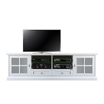 Wooden TV holder Mobile base living room
