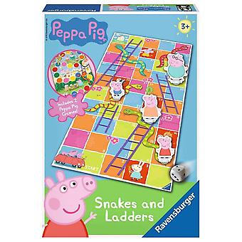 Peppa Pig Ravensburger Snakes & Ladders Game