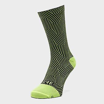 New Gore Men's C3 Optiline Mid Training Socks Yellow