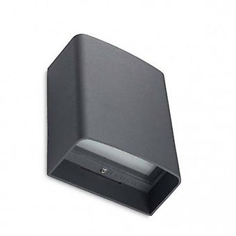 Led Outdoor Wall Light Urban Grey Ip65