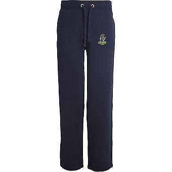 Royal Irish Rangers Farbe - lizenzierte britische Armee bestickt offenen Saum Sweatpants / Jogging Bottoms