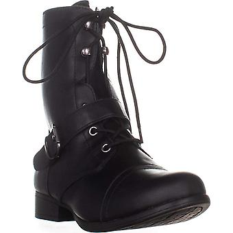American Rag Womens Farahh Closed Toe Mid-Calf Combat Boots