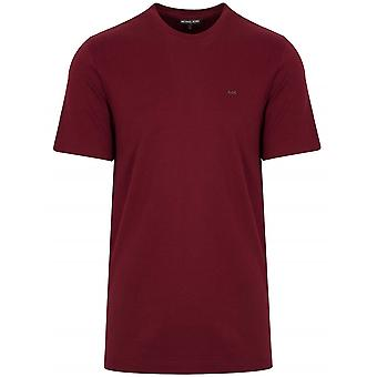 Michael Kors  Classic Merlot Red T-Shirt