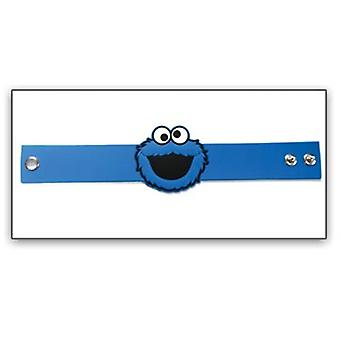 Wristband - Sesame Street - New Cookie Monster PVC Rubber 81825ses