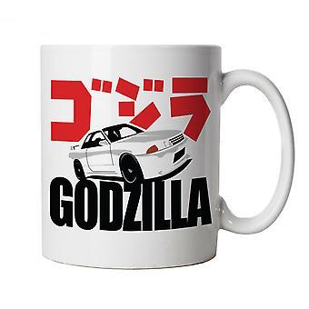 Skyline R32 GT-R JDM Japanese Mug - Japanese Car Gift for Him Dad Her Mum