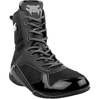 Venum Elite proffsboxnings skor-svart/svart