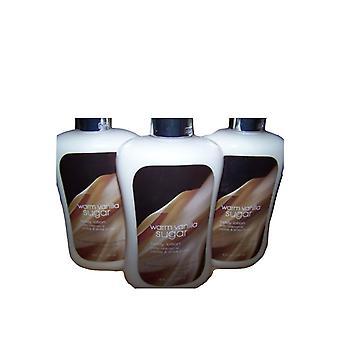 Baie & corp lucrari de cald Vanilla Sugar lotiune de corp 8 fl oz/236 ml (3 PK)