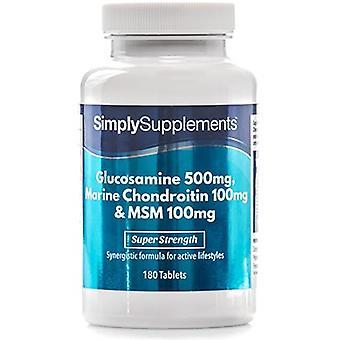 Glucosamine-chondroitin-msm - 120 Tablets