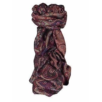 Mens Jamawar Premium Silk Scarf Modello 6689 di Pashmina & Silk