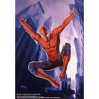 Spiderman (Jumping Advance Reprint) Reprint Poster