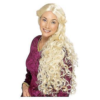 Naisten Renaissance peruukki naamiaispuku lisävaruste
