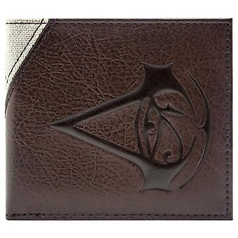 Assassins Creed Origins Bayek Stitched Character Coin & Card Bi-Fold Wallet