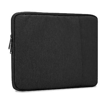 Cadorabo Laptop / Tablet Bag 14'' cale - Notebook torba komputerowa wykonana z tkaniny z aksamitną podszewką i komorą z zamkiem błyskawicznym anty-scratch - Rękaw ochronny