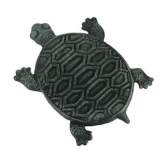Set of 4 Cast Iron Turtle Garden Stepping Stones Step Tiles