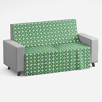 Meesoz Sofa Throw - Drops Green