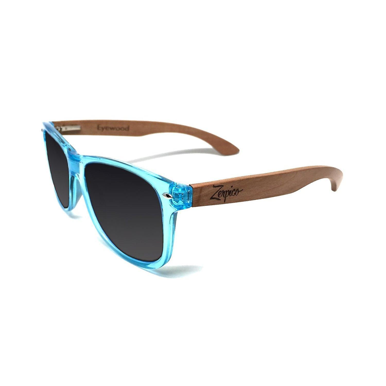 Eyewood Sunglasses - Wayfarer - Sapphire - Black