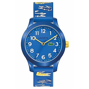 Lacoste 2030019 Children's 12.12 Blue Silicone Wristwatch