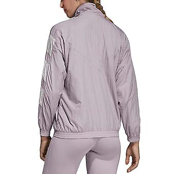 adidas Originals Womens Regular Fit Long Sleeve Tracksuit Track Top Jacket Lilac