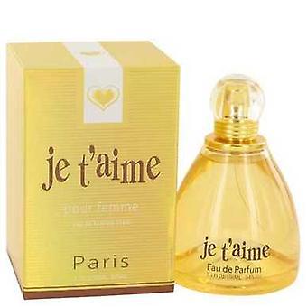 Je T ' Aime door yzy parfum Eau de parfum spray 3,3 oz (vrouwen) V728-529202
