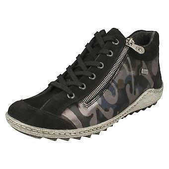 Ladies Remonte Lace opp ankel støvler R1483