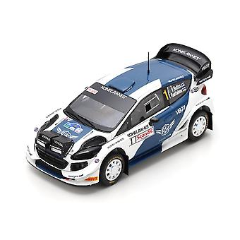 Ford Fiesta WRC (Arctic Lapland rally 2019) Resin model