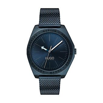 Hugo Watch 1530109 - Act Case Black Steel Dial Black Steel Bracelet Steel Black Men
