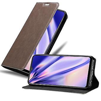 Cadorabo case voor Vivo Y95 case cover - gsm-hoesje met magnetische sluiting, standaardfunctie en kaartvak – Case Cover Protective Case Book Folding Style