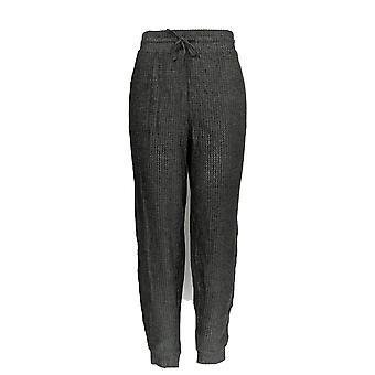 Anybody Women's Pants Brushed Waffle Jogger Gray A345168