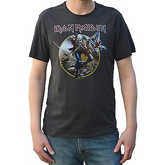 T-Shirt a collo di Iron Maiden Trooper
