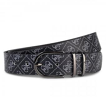 Guess Manhattan Black 4G Logo Belt BM7225