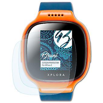 Bruni 2x Screen Protector compatible with XPlora 2 Protective Film