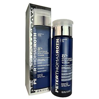 Peter thomas roth 8% glycolic solutions face toner 5 oz for all skin types