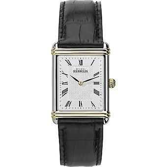 Michel Herbelin 17468-T08 Men's Esprit Art Deco Strap Wristwatch