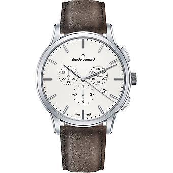 Claude Bernard Wristwatch Men's Jolie classique cronógrafo 10237 3 AIN1