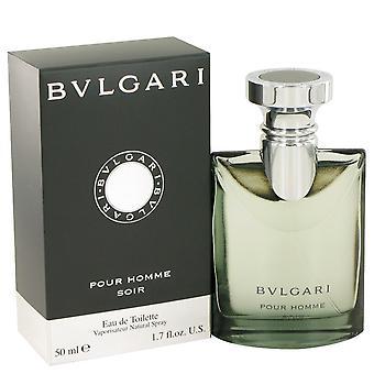 Bvlgari Pour Homme Soir av Bvlgari Eau De Toilette Spray 1.7 oz/50 ml (män)