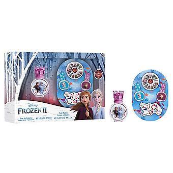 Conjunto de presentes Disney Frozen II Edt 30ml + Kit manicure