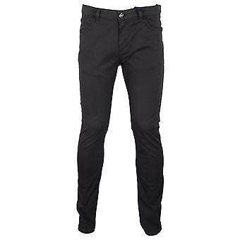 Cavalli Klasse Cotton Slim Fit Zwarte Chino