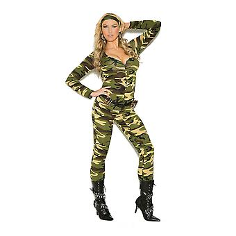 Elegant Moments Combat Warrior Military Army Girl Halloween Costume