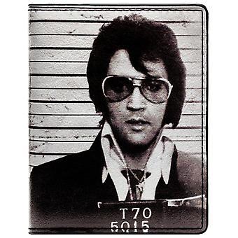 Elvis Presley de koning van Rock & Roll Mug Shot ID & kaart Bi-Fold portemonnee