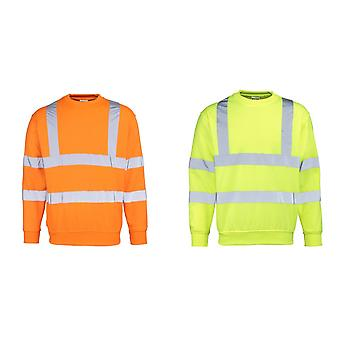 RTY High Visibility Mens High Vis Sweatshirt (Pack of 2)