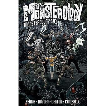 Dept. of Monsterology Volume 1: Monsterology 101