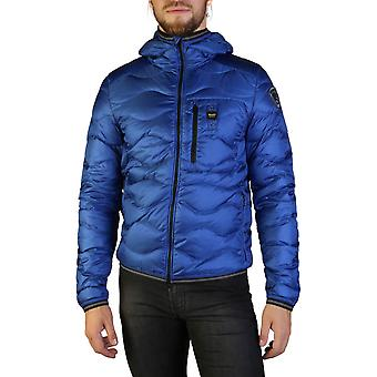 Blauer Original Men Fall/Winter Jacket - Blue Color 35666