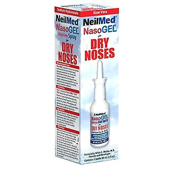 Neilmed nasogel for dry noses, drip free spray, 1 oz