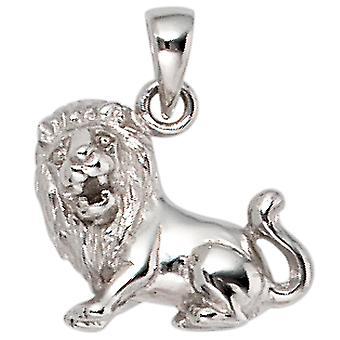 Ladies Pendant Zodiac Lion 925 Sterling Silver Zodiac Pendant