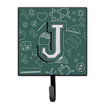 Letter J Back to School Initial Leash or Key Holder