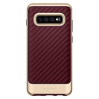 Spigen Backcover Hoesje Neo Hybrid Samsung Galaxy S10 - Bordeaux