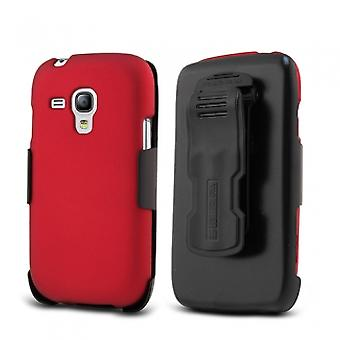 SAMSUNG GALAXY S3 MINI BEYOND CELL KOMBO CASE - RED
