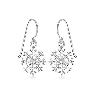 Tuscany Silver Women's Pendant Earrings in Silver Sterling 925 - with Cubic Zirconia